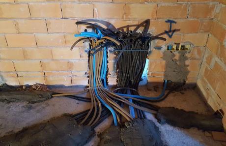 Impianto elettrico prodotto da LU.MI.