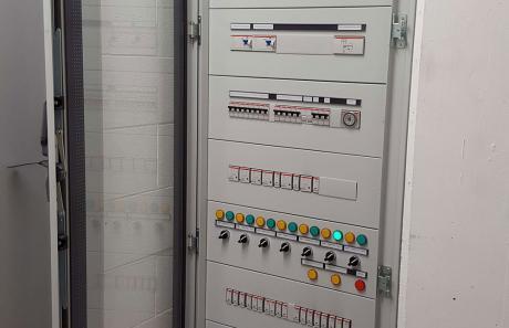 Quadro elettrico - LU.MI.